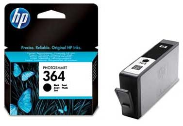 Náplně do tiskárny HP Photosmart B109d černá