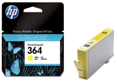 Náplně do tiskárny HP Photosmart Plus B210a žlutá