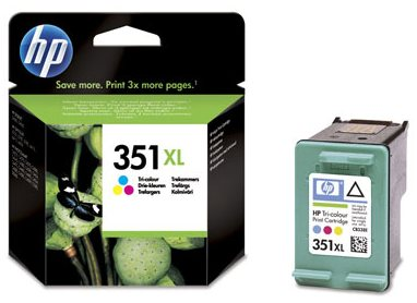 Náplně do tiskárny HP Photosmart C4270 barevná