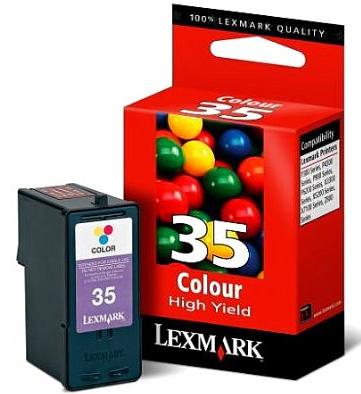 Náplně do tiskárny Lexmark X3500 barevná
