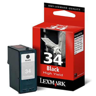 Náplně do tiskárny Lexmark X7170 černá