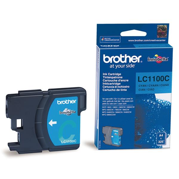Náplně do tiskárny Brother DCP-585CW modrá