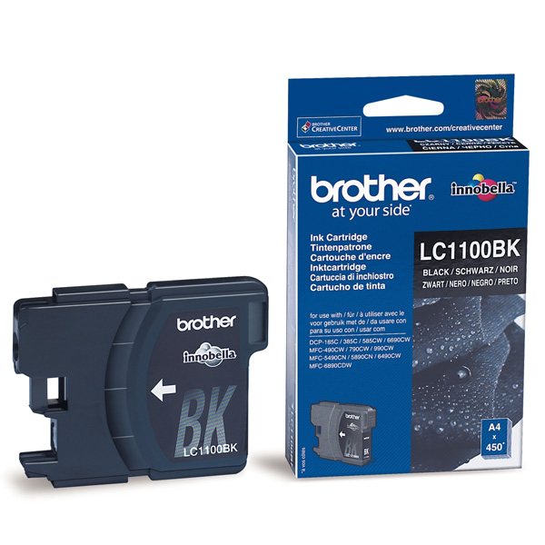 Náplně do tiskárny Brother MFC-5490CN černá
