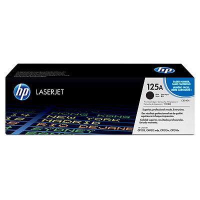 Náplně do tiskárny HP Color LaserJet CP1518n černý