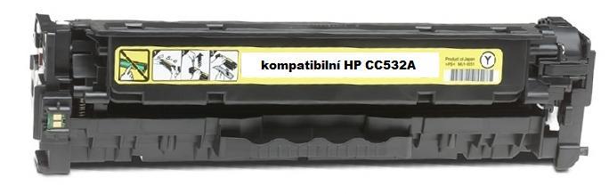 Náplně do tiskárny HP Color LaserJet CP2025 žlutá