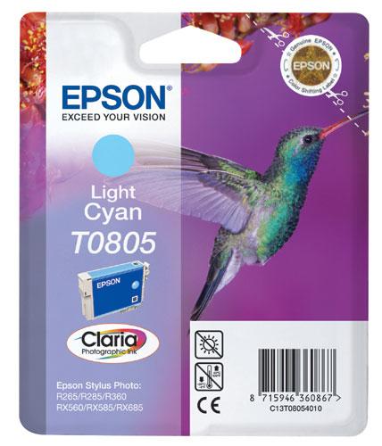 Náplně do tiskárny Epson Stylus Photo PX710W světle modrá