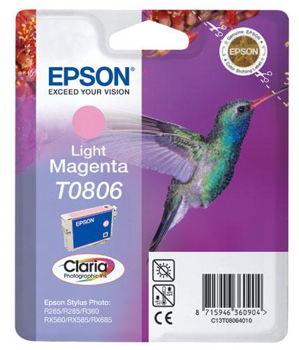 Náplně do tiskárny Epson Stylus Photo PX720WD světle purpurová