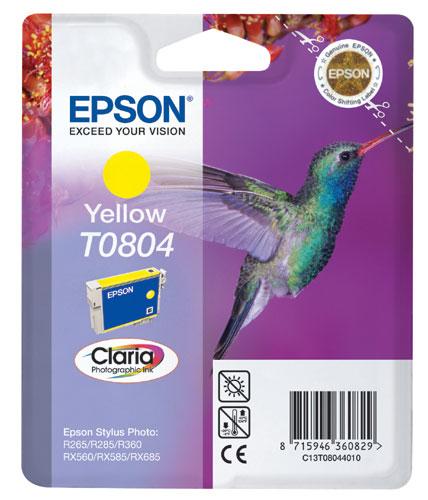 Náplně do tiskárny Epson Stylus Photo R285 žlutá