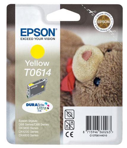 Náplně do tiskárny Epson Stylus DX3800 žlutá
