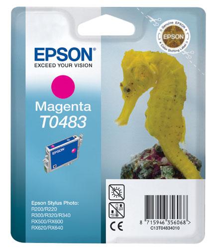 Náplně do tiskárny Epson Stylus Photo RX640 purpurová