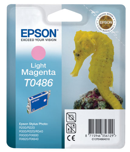 Náplně do tiskárny Epson Stylus Photo RX640 světle purpurová