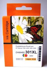 Náplně do tiskárny HP Deskjet 1050A, náhradní barevná