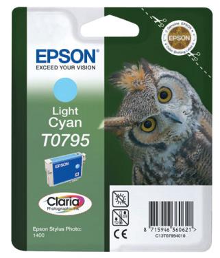 Náplně do tiskárny Epson Stylus Photo PX830FWD světle modrá