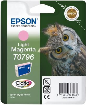 Náplně do tiskárny Epson Stylus Photo PX830FWD světle purpurová