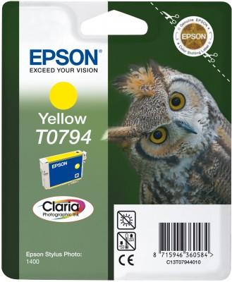 Náplně do tiskárny Epson Stylus Photo PX830FWD žlutá