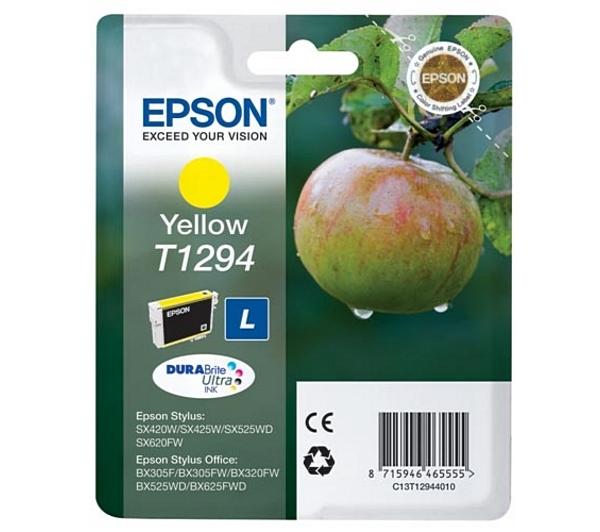 Náplně do tiskárny Epson Stylus Office BX305FW žlutá