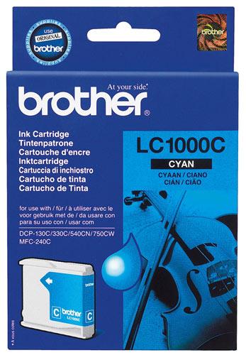 Náplně do tiskárny Brother DCP-130 modrá