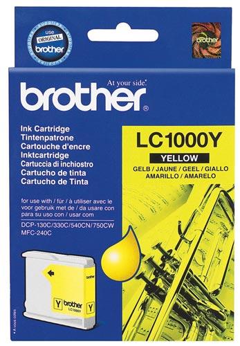 Náplně do tiskárny Brother DCP-330 žlutá