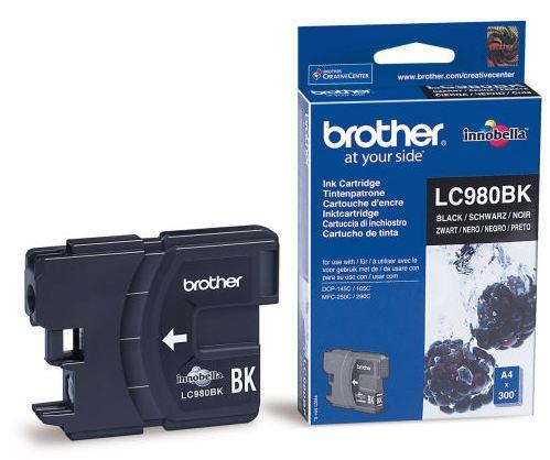 Náplně do tiskárny Brother DCP-163C černá