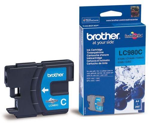 Náplně do tiskárny Brother DCP-195C modrá