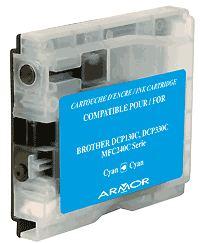 Náplně do tiskárny Brother DCP-357C, náhradní cartridge modrá