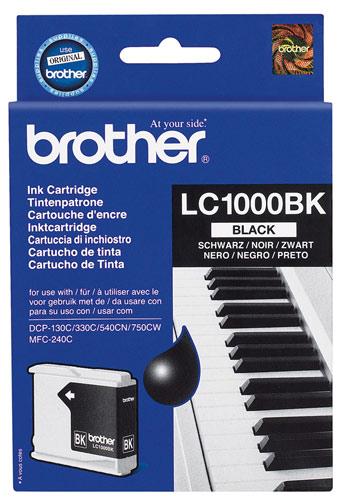 Náplně do tiskárny Brother DCP-770CW černá