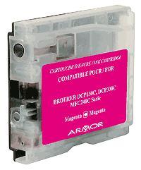 Náplně do tiskárny Brother MFC-3360C, náhradní cartridge purpurová