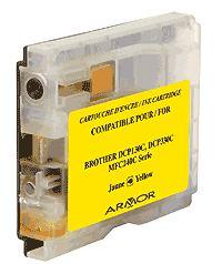 Náplně do tiskárny Brother MFC-5860CN, náhradní cartridge žlutá