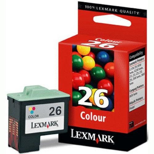 Náplně do tiskárny Lexmark X1100, víceobjemová cartridge pro Lexmark barevná