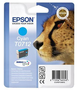 Náplně do tiskárny Epson Stylus DX8450 modrá