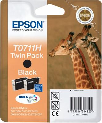 Náplně do tiskárny Epson Stylus DX8450 černá - Twin Pack