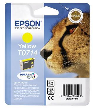 Náplně do tiskárny Epson Stylus DX8450 žlutá
