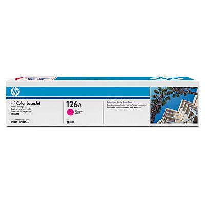 Náplně do tiskárny HP Color LaserJet Pro 100 M175nw červená