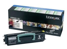 Náplně do tiskárny Lexmark X204N, toner pro Lexmark černý