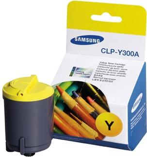 Náplně do tiskárny Samsung CLX 2160N, originální toner pro Samsung žlutá