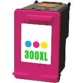 Kompatibilní HP 300XL barevná, HP CC644EE (640 stran)