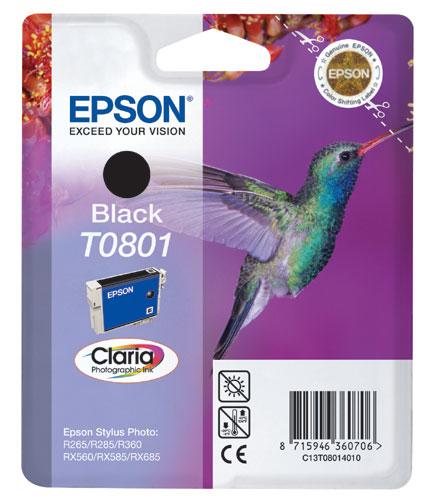 Epson T0801 černá