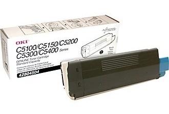 Náplně do tiskárny Oki C5400, černá