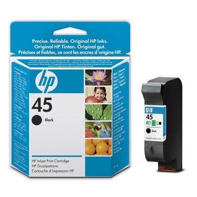 HP 45, HP 51645A černá