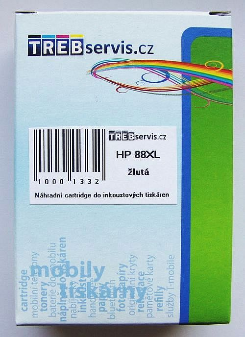 Kompatibilní HP 88XL žlutá, HP C9393AE