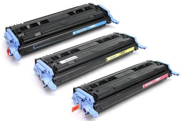 Náplně do tiskárny HP LaserJet Pro 400, sada náhradních tonerů pro HP modrá, červená, žlutá