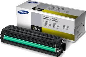 Náplně do tiskárny Samsung SL-C1810, originální toner pro Samsung žlutá