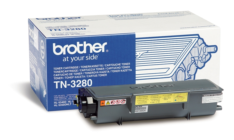 Náplně do tiskárny Brother DCP-8070D černý