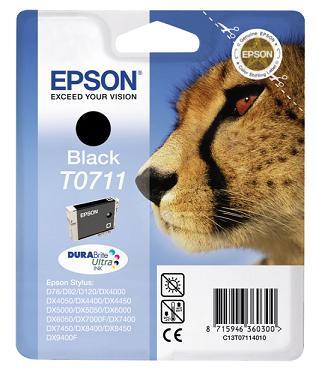 Náplně do tiskárny Epson Stylus SX610FW černá