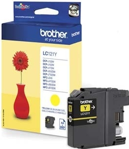 Náplně do tiskárny Brother DCP-J132W žlutá
