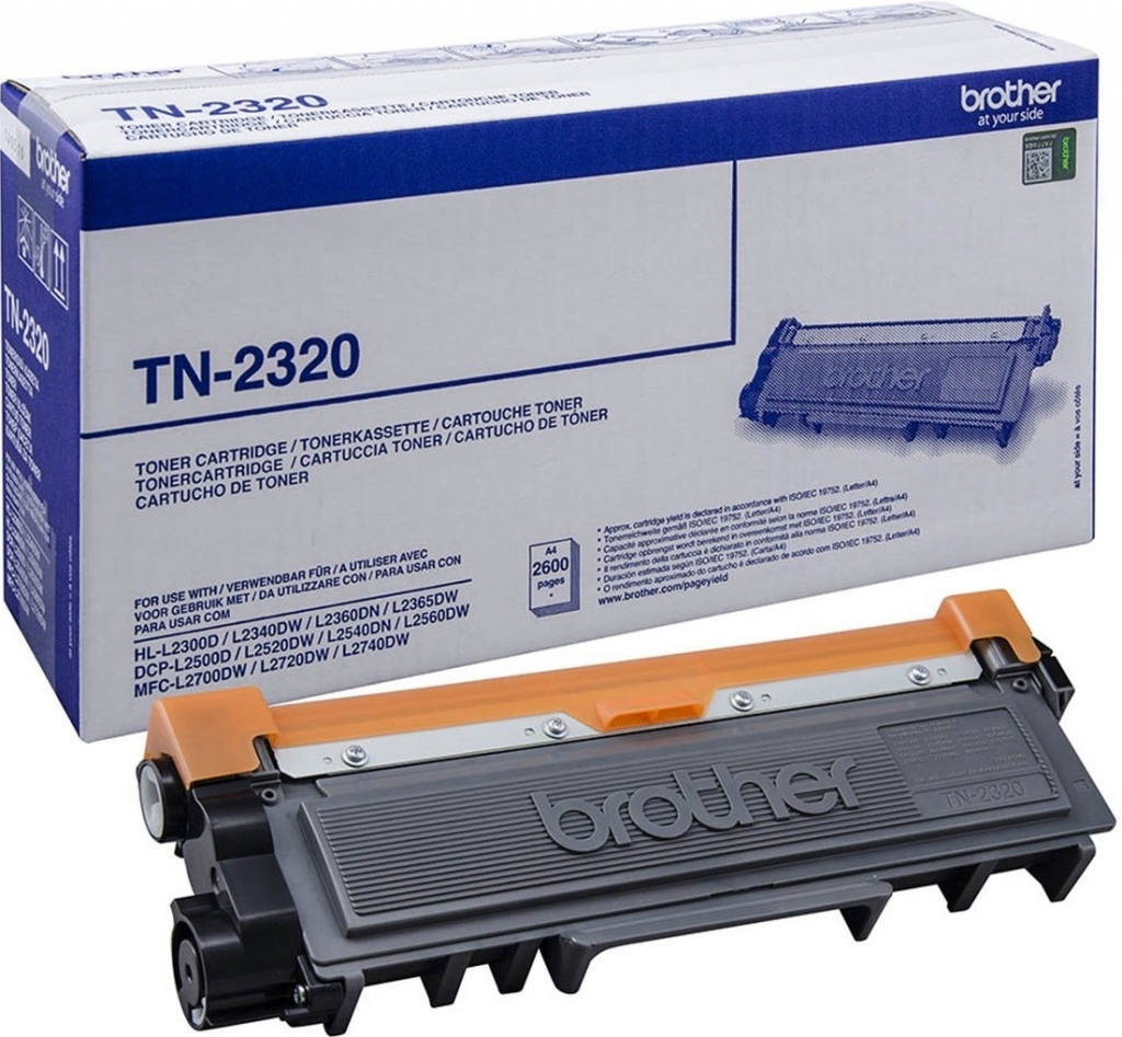 Náplně do tiskárny Brother DCP-L2520DW černý