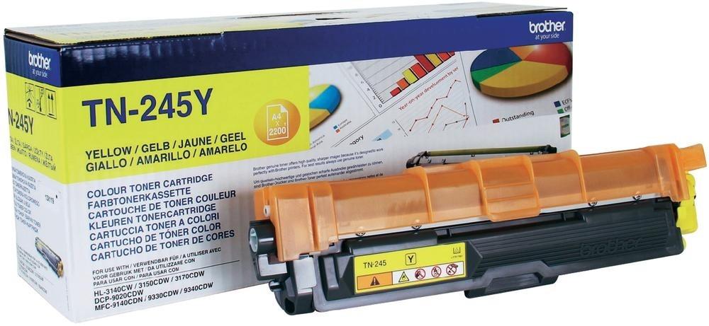 Náplně do tiskárny Brother MFC-9340CDW žlutá 2200 stran