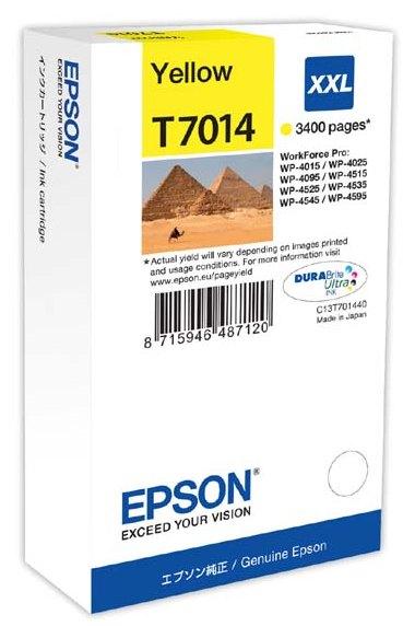 Náplně do tiskárny Epson WorkForce Pro WP4000 žlutá