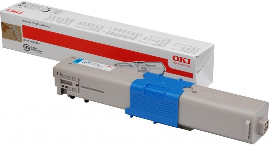 Náplně do tiskárny Oki MC342DNW, modrá