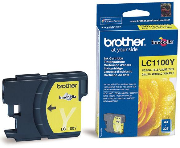 Brother LC-1100Y žlutá
